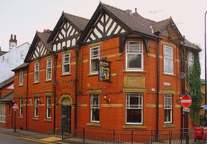 Wigan pub ,The Anvil, built 1894